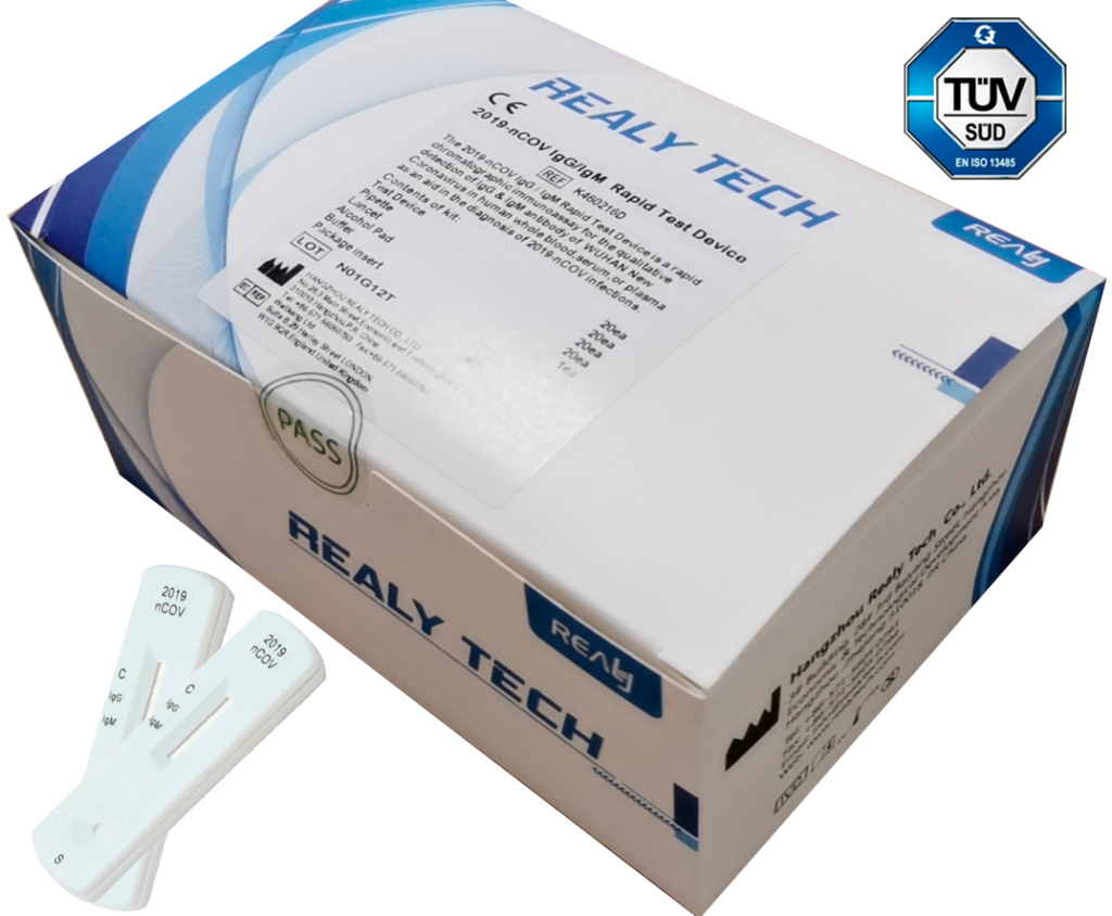 Realy Tech - Teste Rápido para Corona Vírus