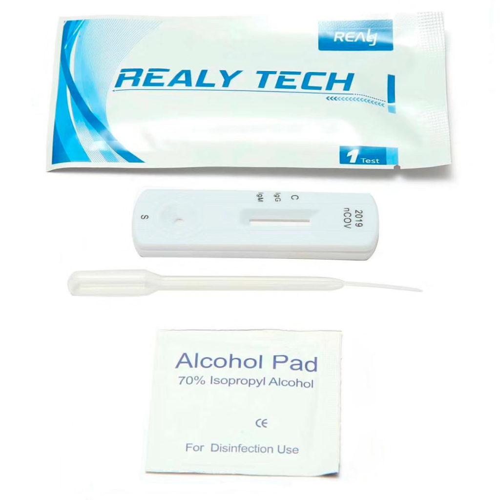 COVID-19 IgG IgM - Realy Tech - Kit aberto - sensibilidade clínica de 97,5%